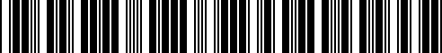 Barcode for 40343-1VW5A