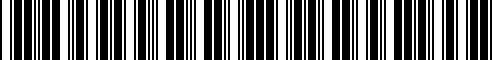 Barcode for F8800-1LA0A