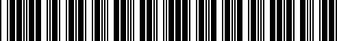 Barcode for F8800-89905