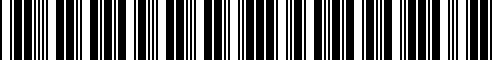 Barcode for G4900-1V92E