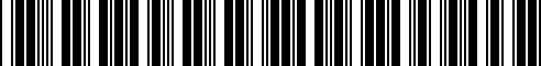 Barcode for G4900-6AE1D