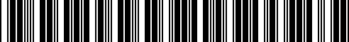 Barcode for G4900-6AE1E