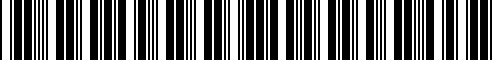 Barcode for G4900-6HH0D