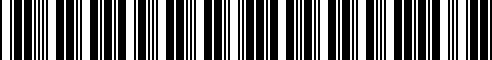 Barcode for G4900-6HH0E