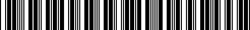 Barcode for G4900-6JB0B