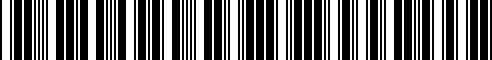 Barcode for G6950-1MA0B