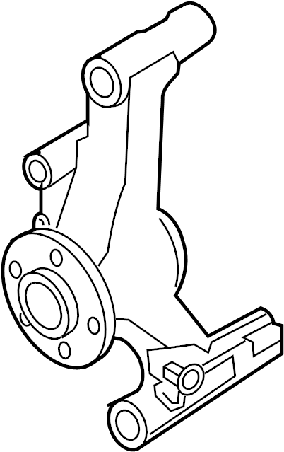 2010 Infiniti Qx56 Engine Cooling Fan Clutch Bracket