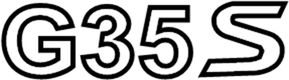 84894-JK500 - Deck Lid Emblem. AWD - Genuine INFINITI Part